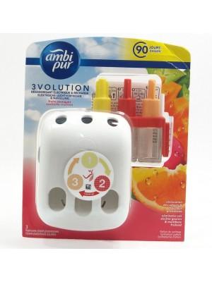Ambi Pur 3Volution Fruits Exotic Ел.машинка+пълнител 20мл.