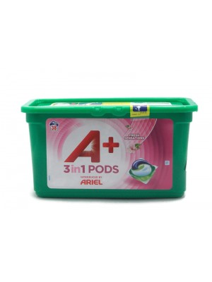 Ariel 3in1 Pods Fresh Sensetion 38бр. Капсули за Пране