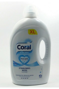 Coral Optimal White 2,500л. Течен прах