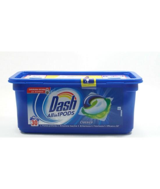 Dash Allin1 Pods Classico 30бр. Капсули за пране