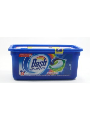 Dash Allin1 Pods Salva Color 30бр. Капсули за пране