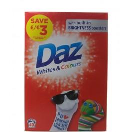 Daz White & Colour 2.6кг. Прах за пране