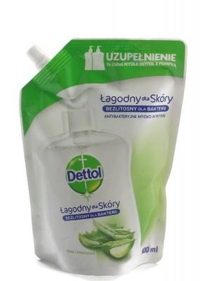 Dettol Aloe Vitamin E 500мл.  Течен сапун пълнител.