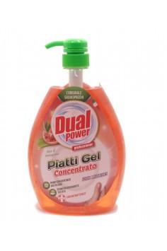 Dual Power Piatti Gel Concentrato Aloe & Melograno 1л. Препарат за почистване на съдове