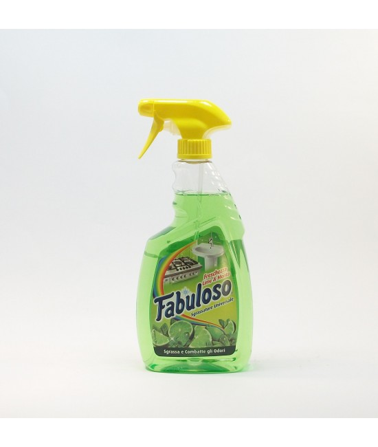 Fabuloso Sgrassatore Lime & Menta 600мл Универсален Обезмаслител