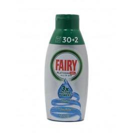 Fairy Platinum all in One Gel 650мл. Гел за съдомиялна машина