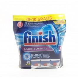 Finish Quantum Shine and Protect Таблетки за съдомиялна машина