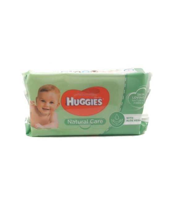 Huggies Natural Cear Мокри Кърпи