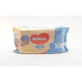 HUGGIES Pure 56бр. Мокри кърпи