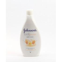 Johnson Soft & Nourish 400мл.Омекотяващ и подхранващ душ гел
