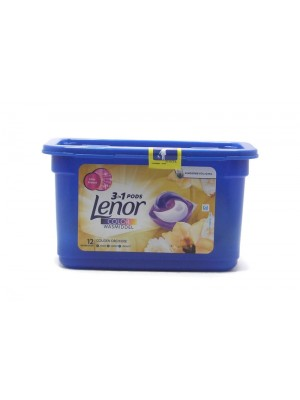 Lenor 3in1 Color Golden Orhide  Капсули за пране