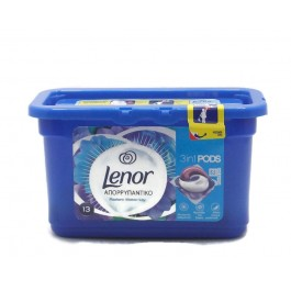 Lenor 3in1 Pods Water Lily Капсули за Пране.