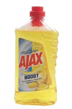 Ajax BOOST Soda + Limon 1л Прапарат за под