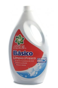 ARIEL Basico Limpio & Fresco 1.710л. Течен Перилен Препарат.