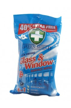 Green Shield Glass & Window 70бр. Кърпи за почистване стъклени повърхности.