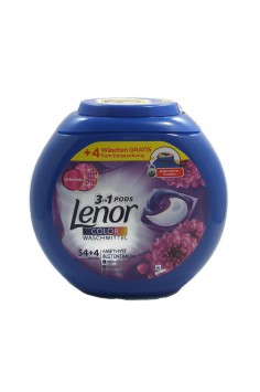 Lenor 3in1 Color Pods 58бр. Капсули за Пране