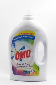 Omo Color & Care 1.9л. Течен Перилен Препарат