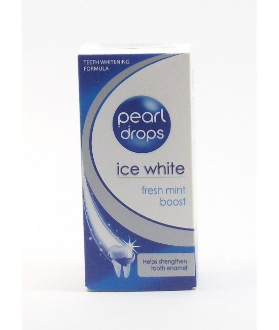 Pearl Drops Ice White. 50мл. Избелваща паста за зъби