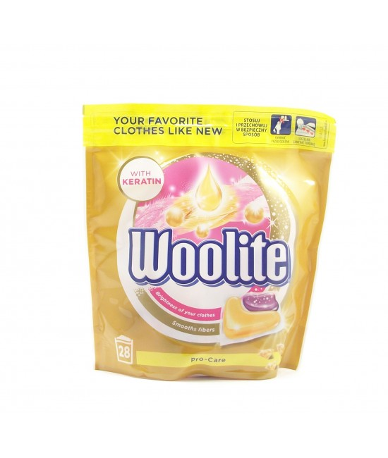 Woolite With Keratin Капсули за Пране
